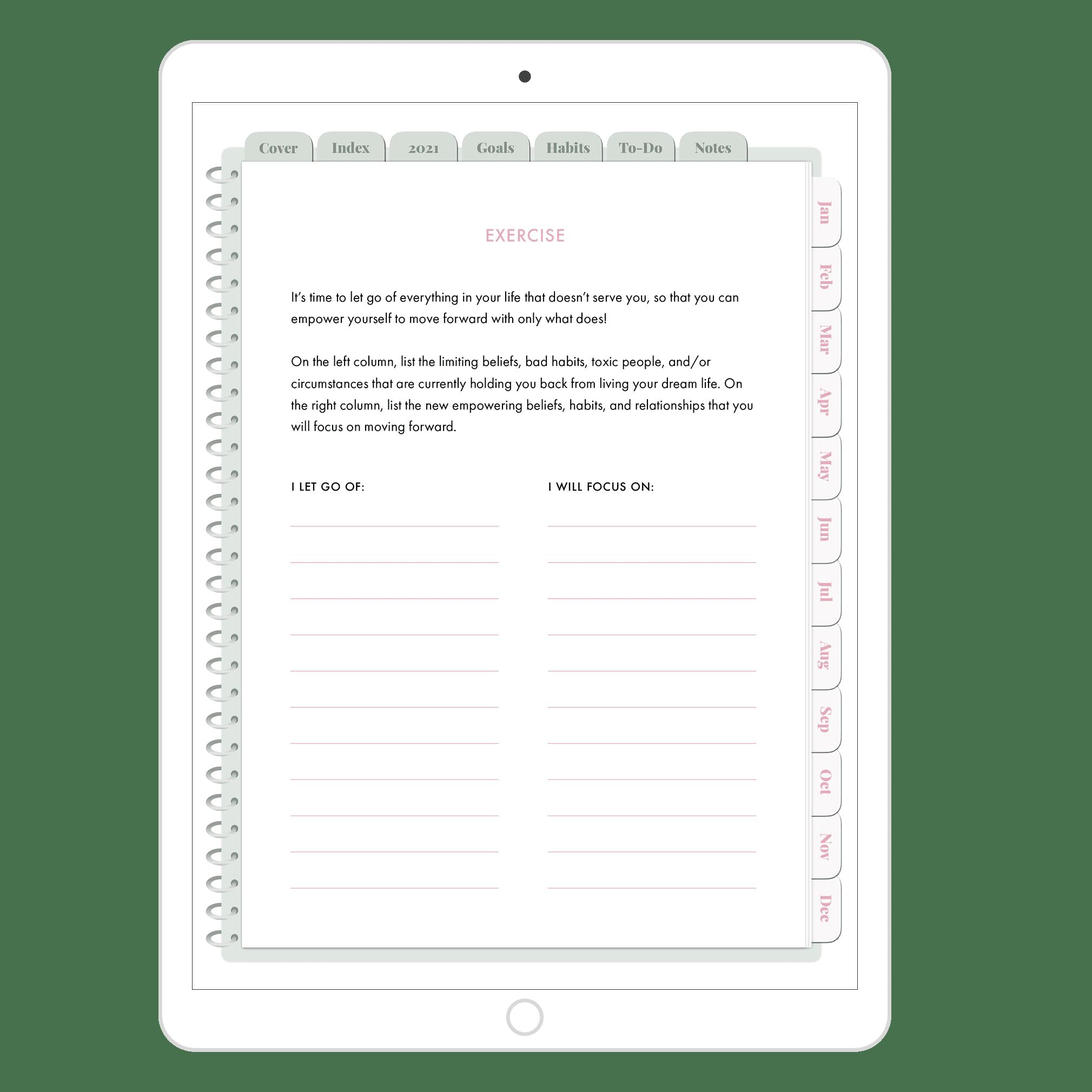 goals-setting-exercise
